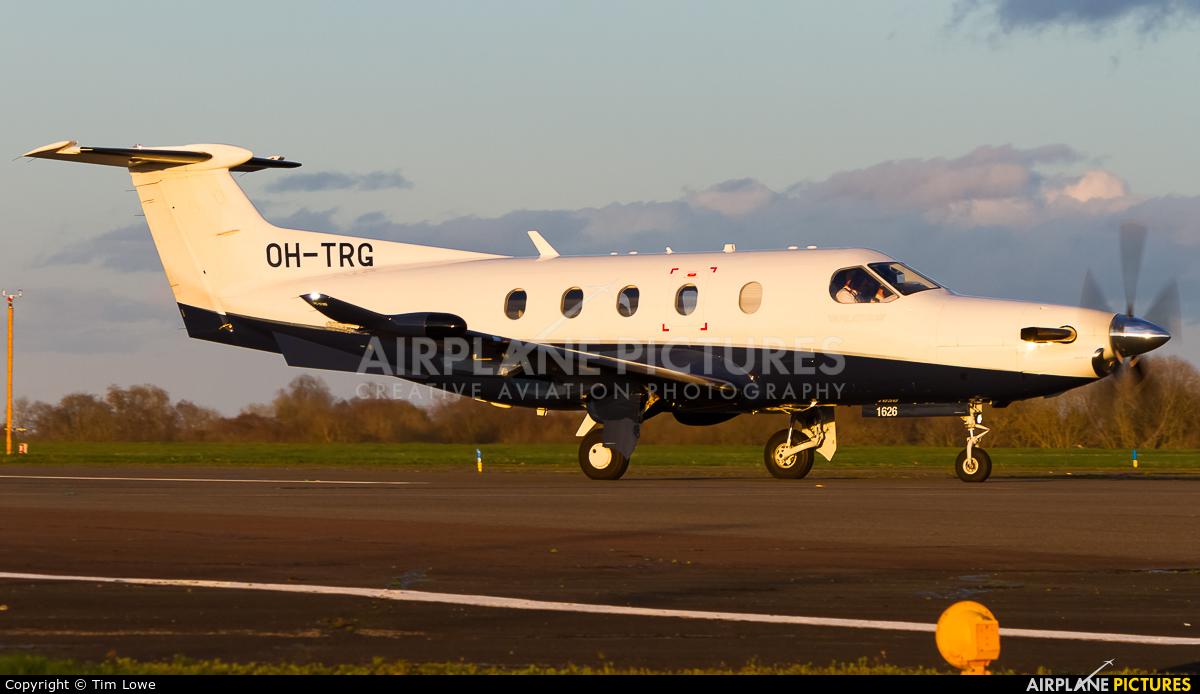 FLY 7 Executive Aviation SA OH-TRG aircraft at Biggin Hill
