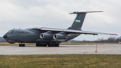 UK-76007 - Uzbekistan Air Force Ilyushin Il-76 (all models)