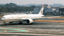 Etihad Airways Boeing 777 visited Mumbai title=