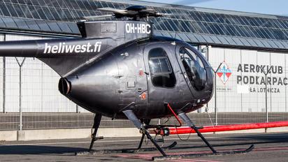 OH-HBC - Heliwest Hughes 369D