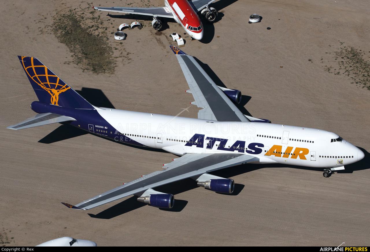 Atlas Air N322SG aircraft at Marana/Pinal Air Park