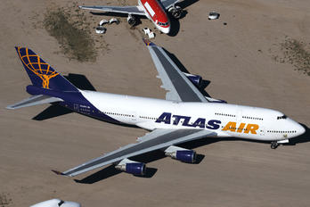 N322SG - Atlas Air Boeing 747-400