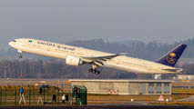 HZ-AK44 - Saudi Arabian Airlines Boeing 777-300ER aircraft