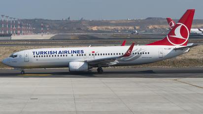 TC-JHF - Turkish Airlines Boeing 737-800