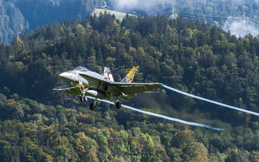 J-5011 - Switzerland - Air Force McDonnell Douglas F/A-18C Hornet