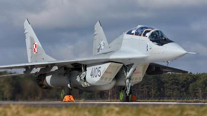 4105 - Poland - Air Force Mikoyan-Gurevich MiG-29UB
