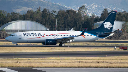 XA-AMG - Aeromexico Boeing 737-800