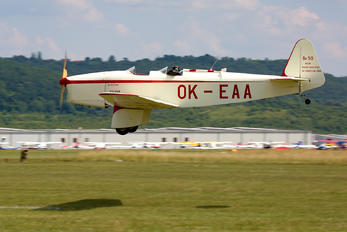 OK-EAA - Private Beneš-Mráz Be 50 Beta Minor