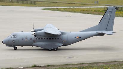T-19B-16 - Spain - Air Force Casa CN-235M