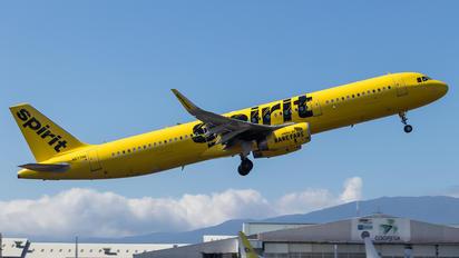 N677NK - Spirit Airlines Airbus A321