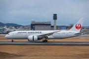 JA847J - JAL - Japan Airlines Boeing 787-8 Dreamliner aircraft