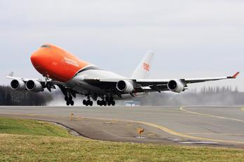 OO-THB - TNT Boeing 747-400F, ERF