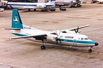 LX-LGD - Luxair Fokker 50