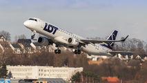 SP-LNL - LOT - Polish Airlines Embraer ERJ-195 (190-200) aircraft