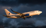 OY-JTY - Jet Time Boeing 737-700 aircraft