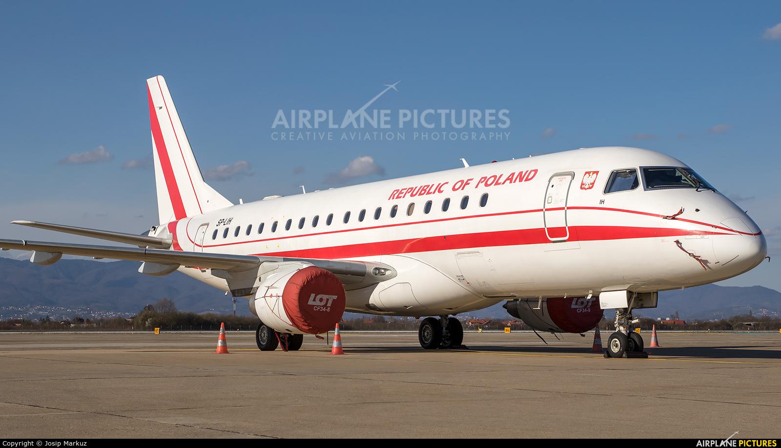Poland - Government SP-LIH aircraft at Zagreb