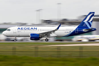 SX-NEB - Aegean Airlines Airbus A320 NEO