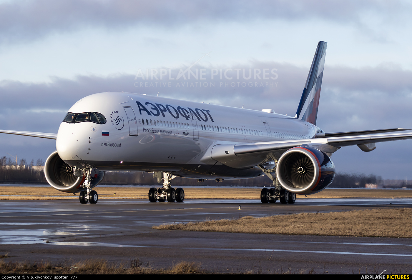 Aeroflot VQ-BFY aircraft at St. Petersburg - Pulkovo