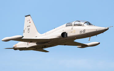 AE.9-08 - Spain - Air Force CASA-Northrop  SF-5B(M) Freedom Fighter