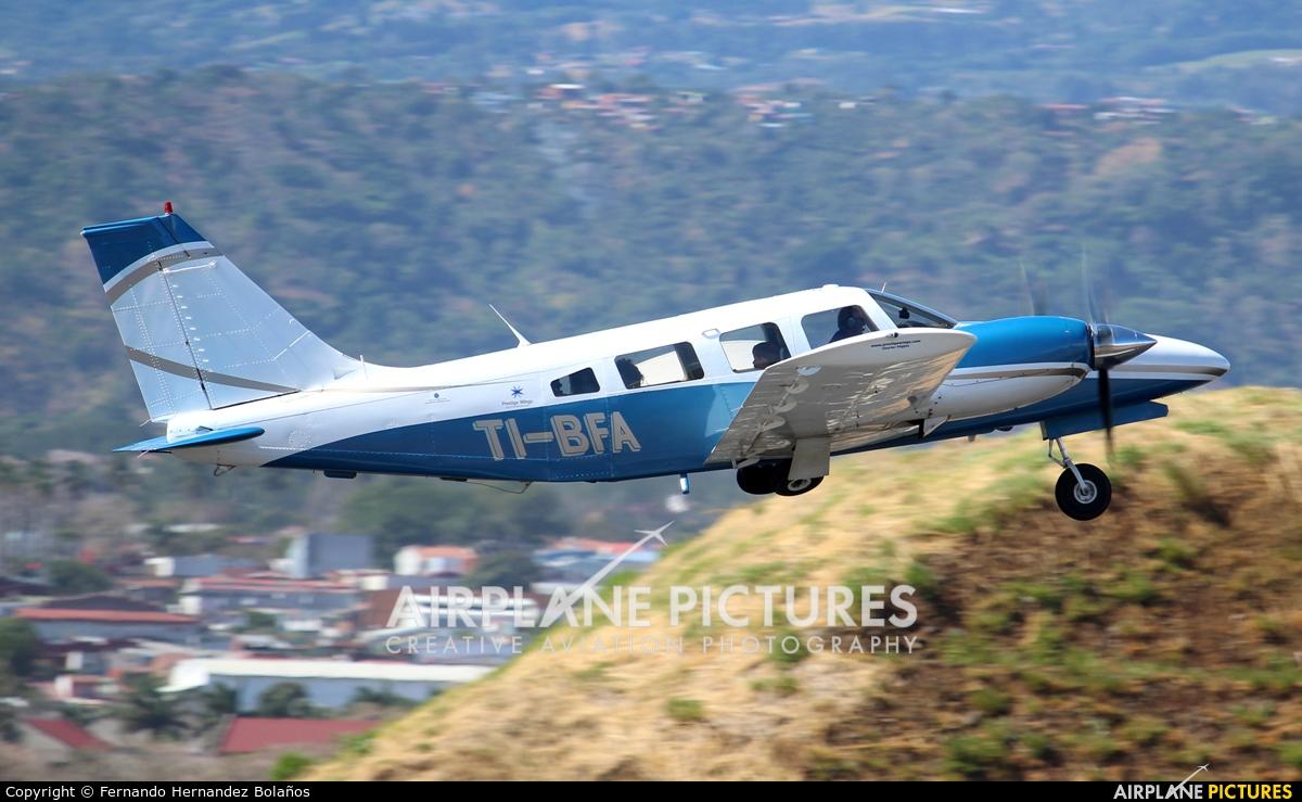 Private TI-BFA aircraft at San Jose - Juan Santamaría Intl