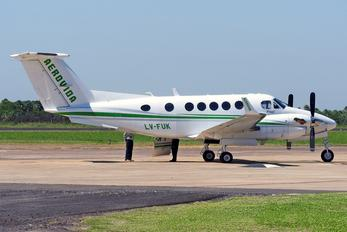 LV-FUK - Private Beechcraft 200 King Air