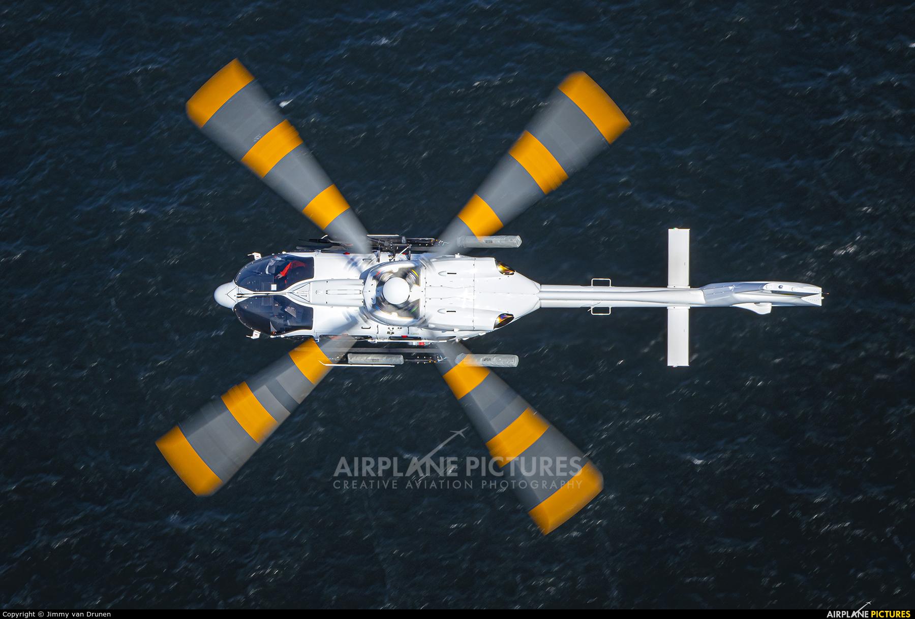NHV - Noordzee Helikopters Vlaanderen OO-NST aircraft at In Flight - Belgium