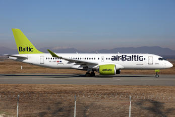 YL-AAT - Air Baltic Airbus A220-300
