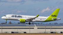 YL-CSD - Air Baltic Airbus A220-300 aircraft