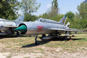 2007 - Romania - Air Force Mikoyan-Gurevich MiG-21R