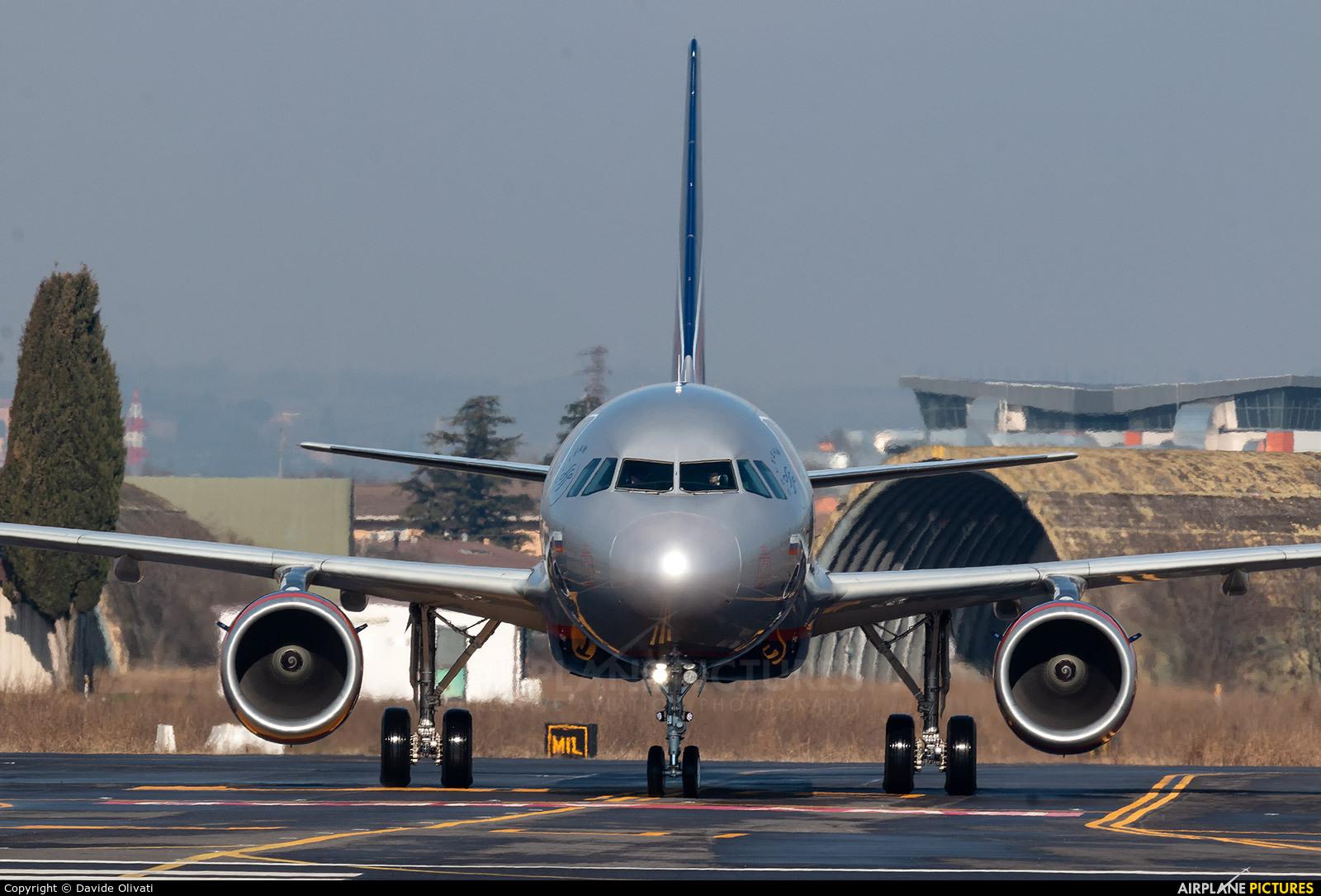 Aeroflot VP-BEW aircraft at Verona - Villafranca