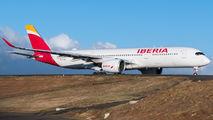 EC-NBE - Iberia Airbus A350-900 aircraft