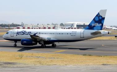 N703JB - JetBlue Airways Airbus A320