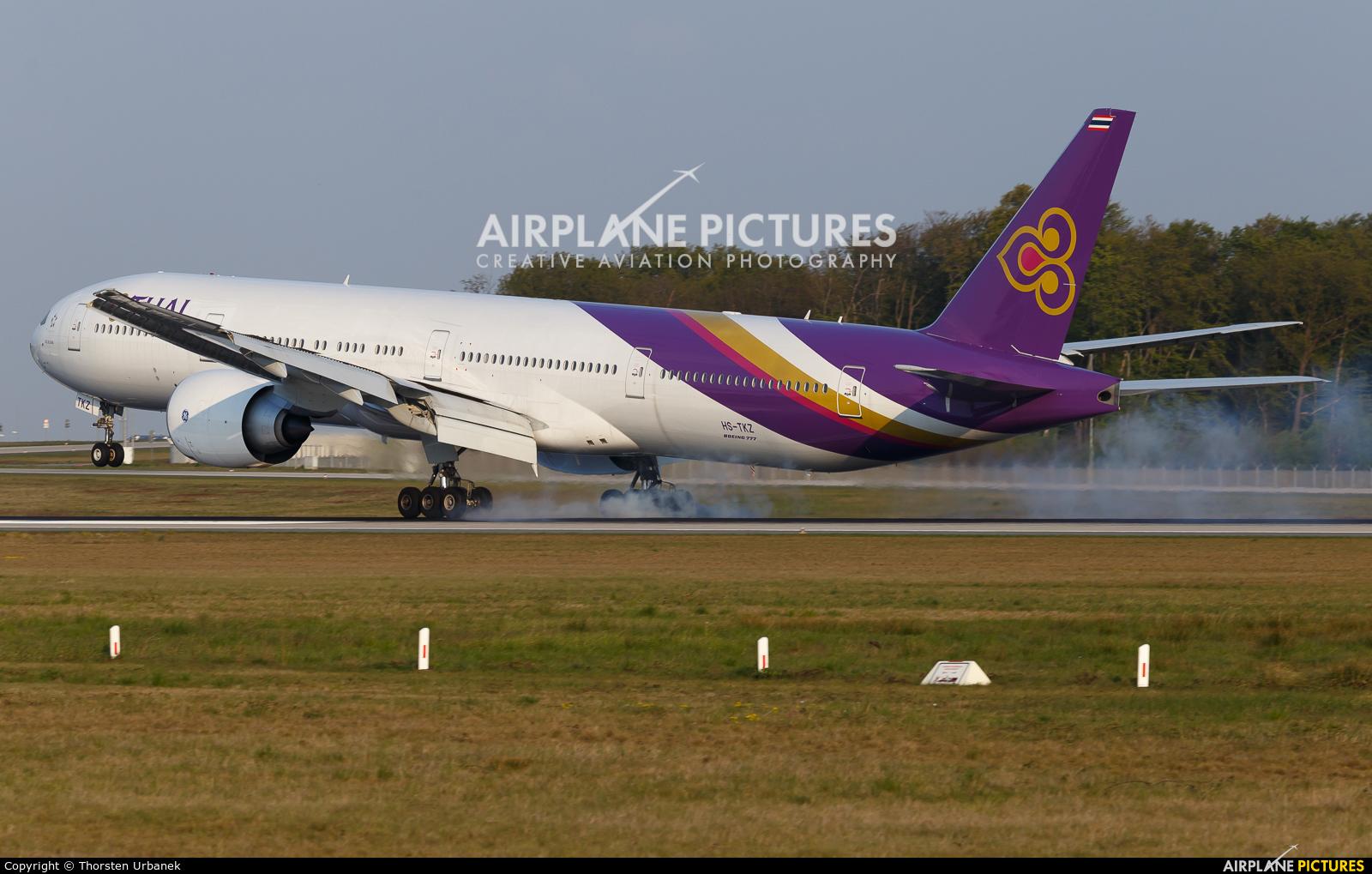 Thai Airways HS-TKW aircraft at Frankfurt