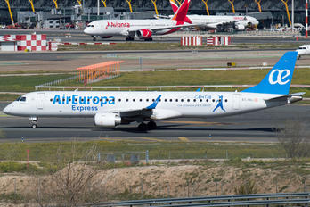 EC-KRJ - Air Europa Express Embraer ERJ-195 (190-200)