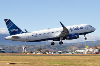 N805JB - JetBlue Airways Airbus A320