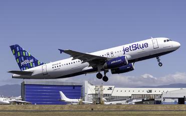 N510JB - JetBlue Airways Airbus A320