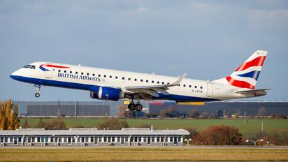 G-LCYW - British Airways - City Flyer Embraer ERJ-190 (190-100)
