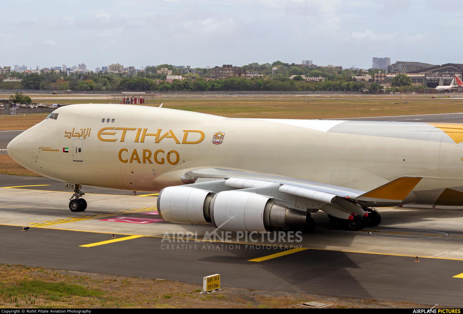 Etihad Cargo N476MC aircraft at Mumbai - Chhatrapati Shivaji Intl