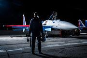 50 BLUE - Russia - Air Force Sukhoi Su-35S aircraft