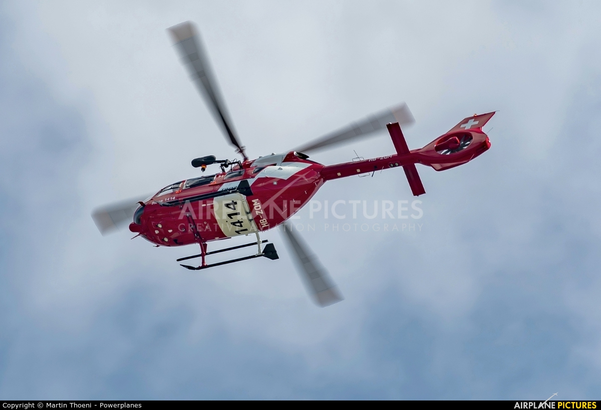 REGA Swiss Air Ambulance  HB-ZQM aircraft at Payerne