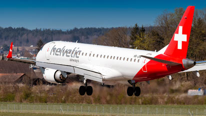 HB-JVM - Helvetic Airways Embraer ERJ-190 (190-100)