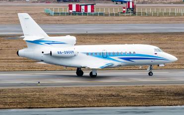 RA-09001 - Gazpromavia Dassault Falcon 900 series