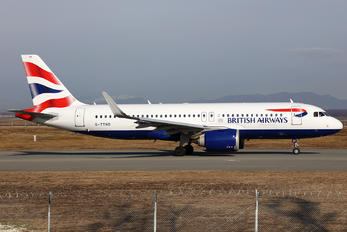 G-TTND - British Airways Airbus A320 NEO