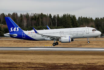 SE-ROU - SAS - Scandinavian Airlines Airbus A320 NEO