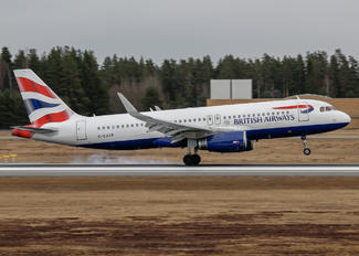 G-EUYP - British Airways Airbus A320