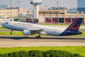 OO-TCH - Brussels Airlines Airbus A320