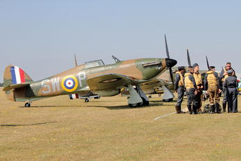 G-HITT - Private Hawker Hurricane Mk.I (all models)
