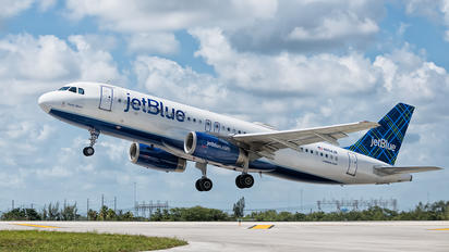N554JB - JetBlue Airways Airbus A320