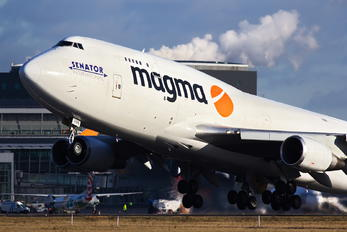 TF-AMN - Magma Aviation Boeing 747-400BCF, SF, BDSF