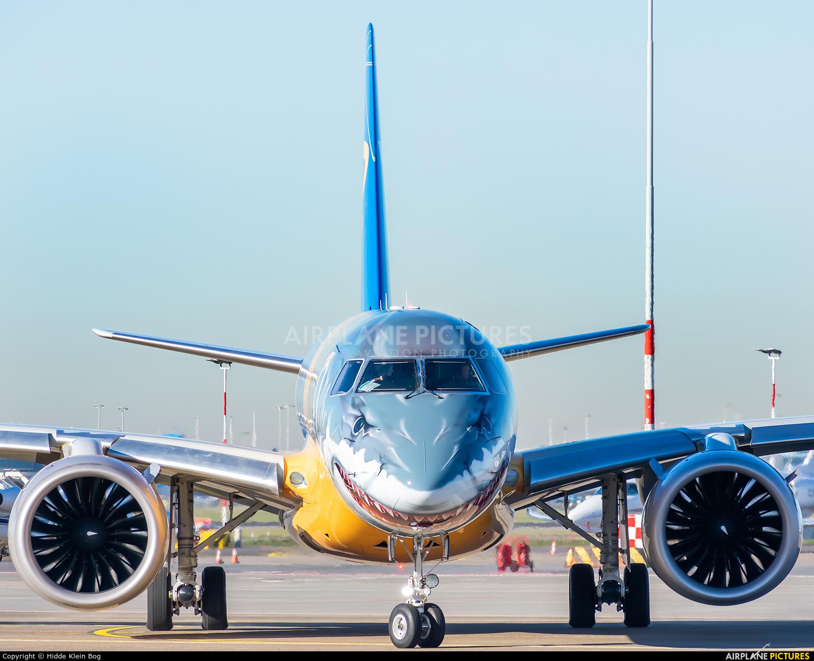 Embraer PR-ZGQ aircraft at Amsterdam - Schiphol